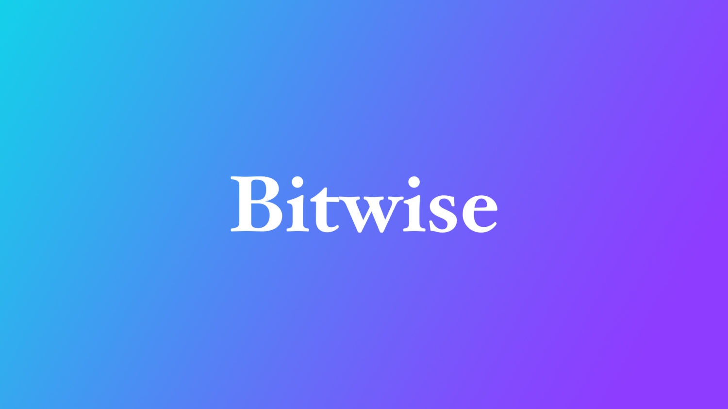 Crypto fund manager Bitwise hires former federal prosecutor as general counsel