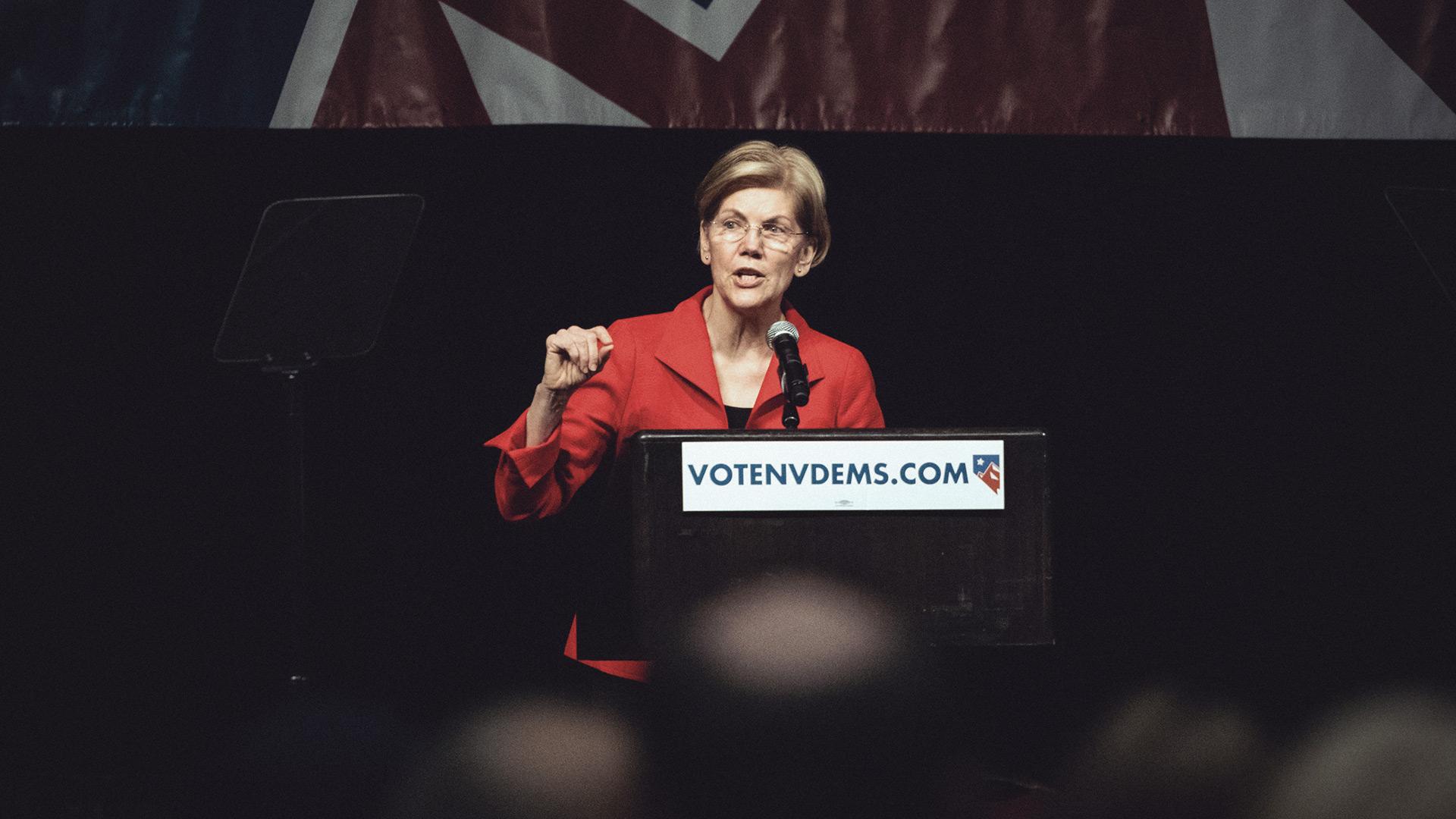 Sen. Elizabeth Warren says 'crypto is the new shadow bank'