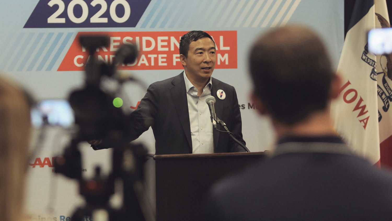 Andrew Yang says he'd make New York City a 'hub' for bitcoin if elected mayor