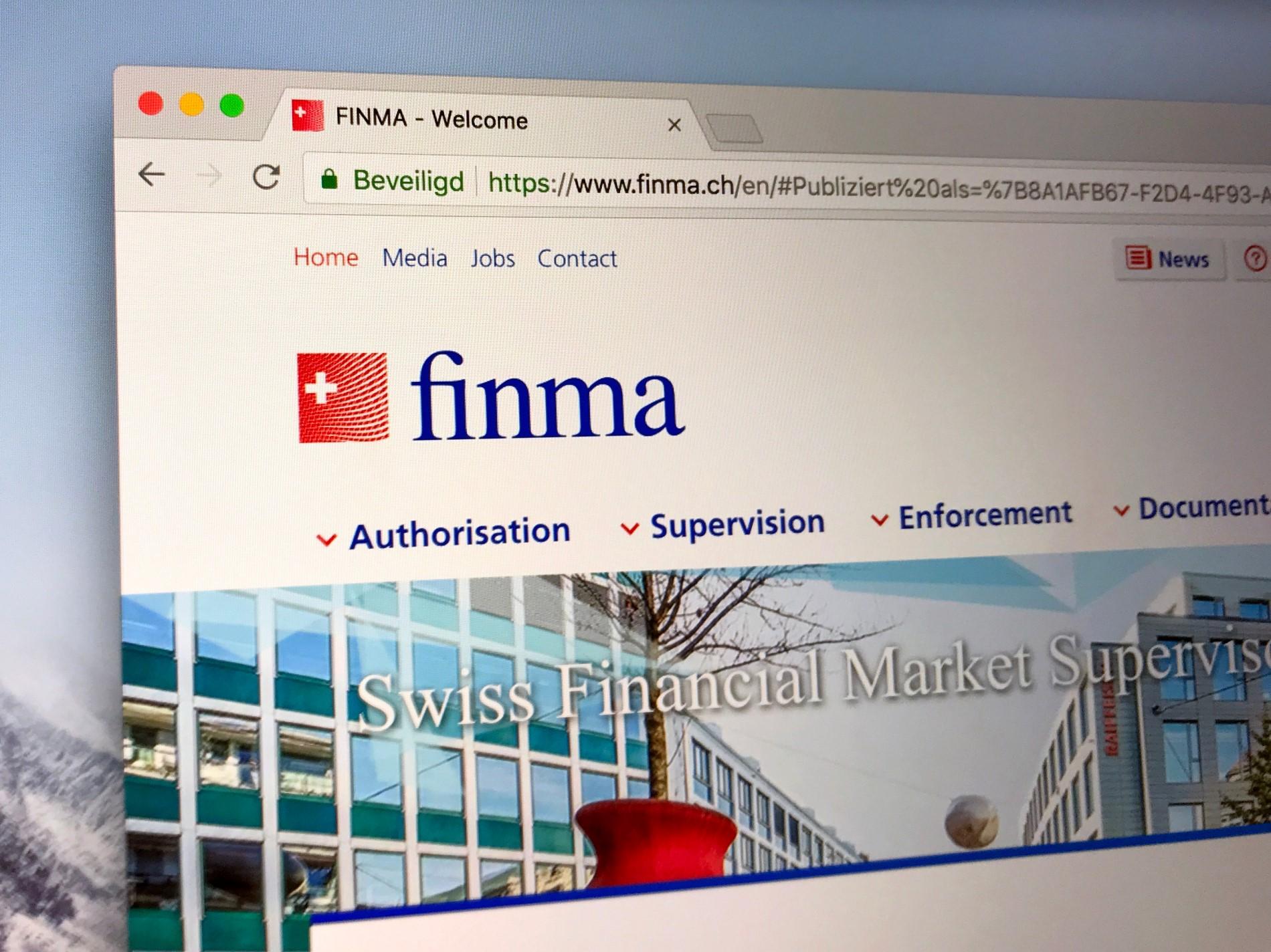 Techmeme: Swiss financial regulator FINMA issues banking