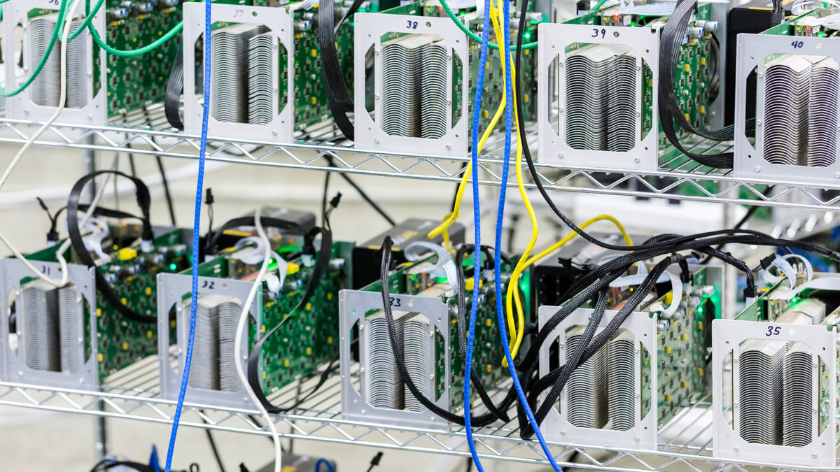 what type of asset is cryptocurrency mining equipment