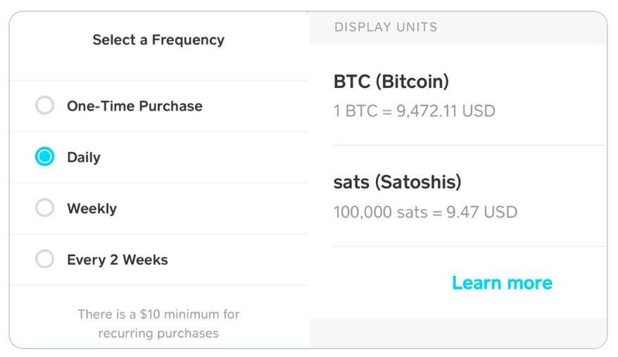 How to buy bitcoin using cash app