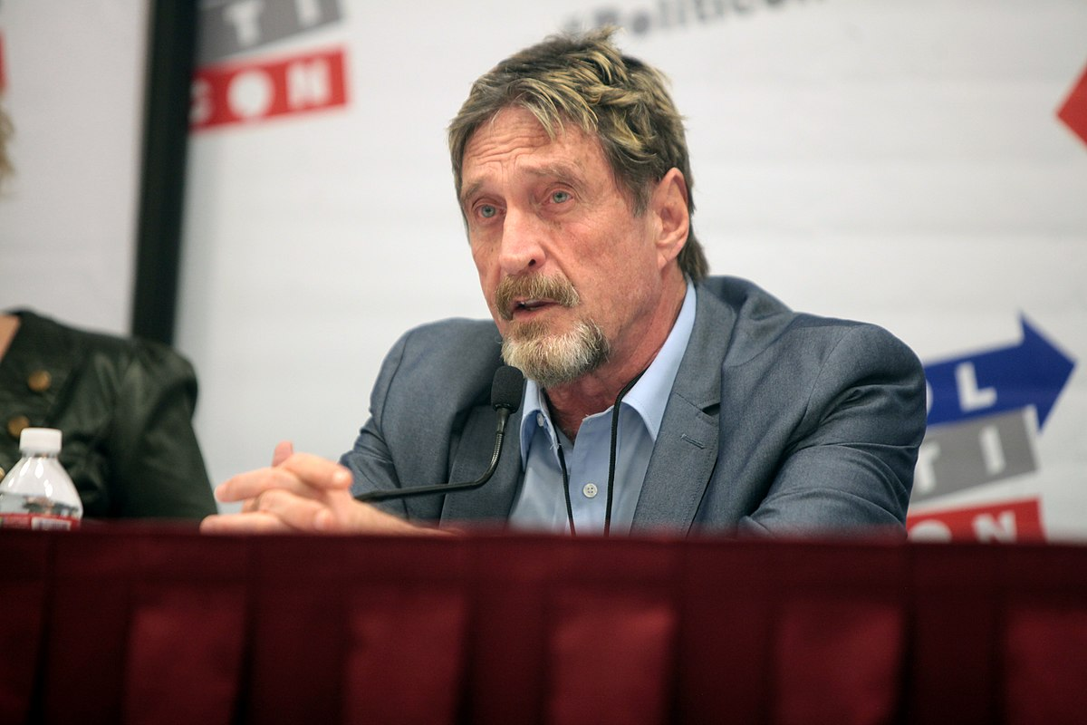 John McAfee reportedly found dead in prison following extradition approval