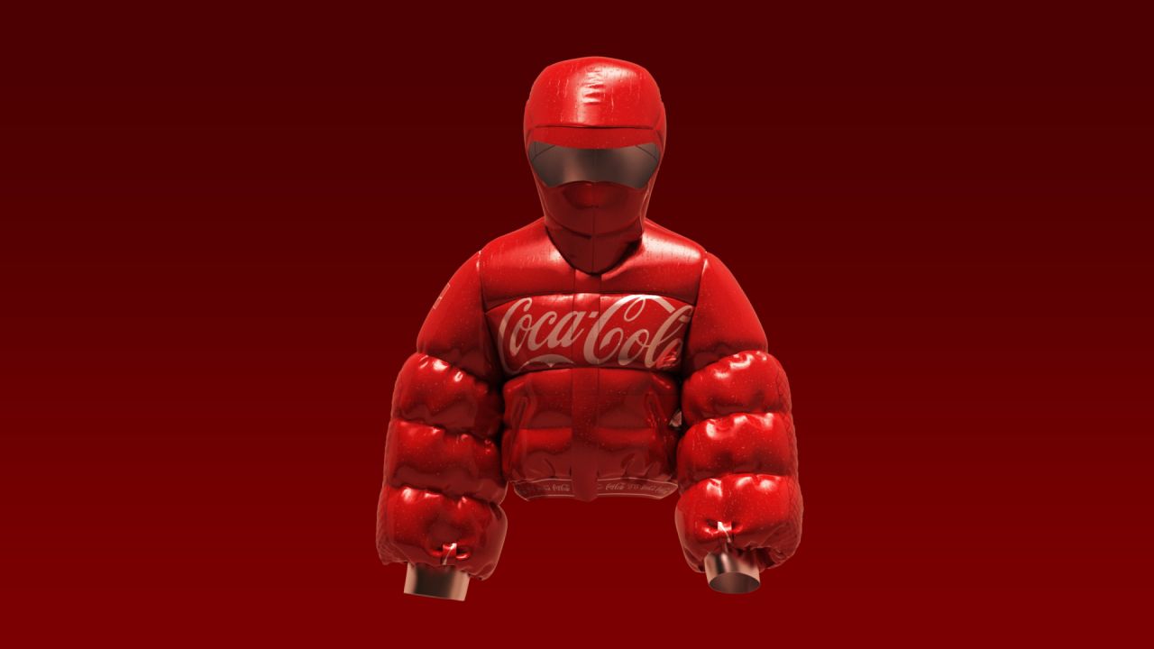 Coca-Cola creates its first collection of brand-inspired NFTs