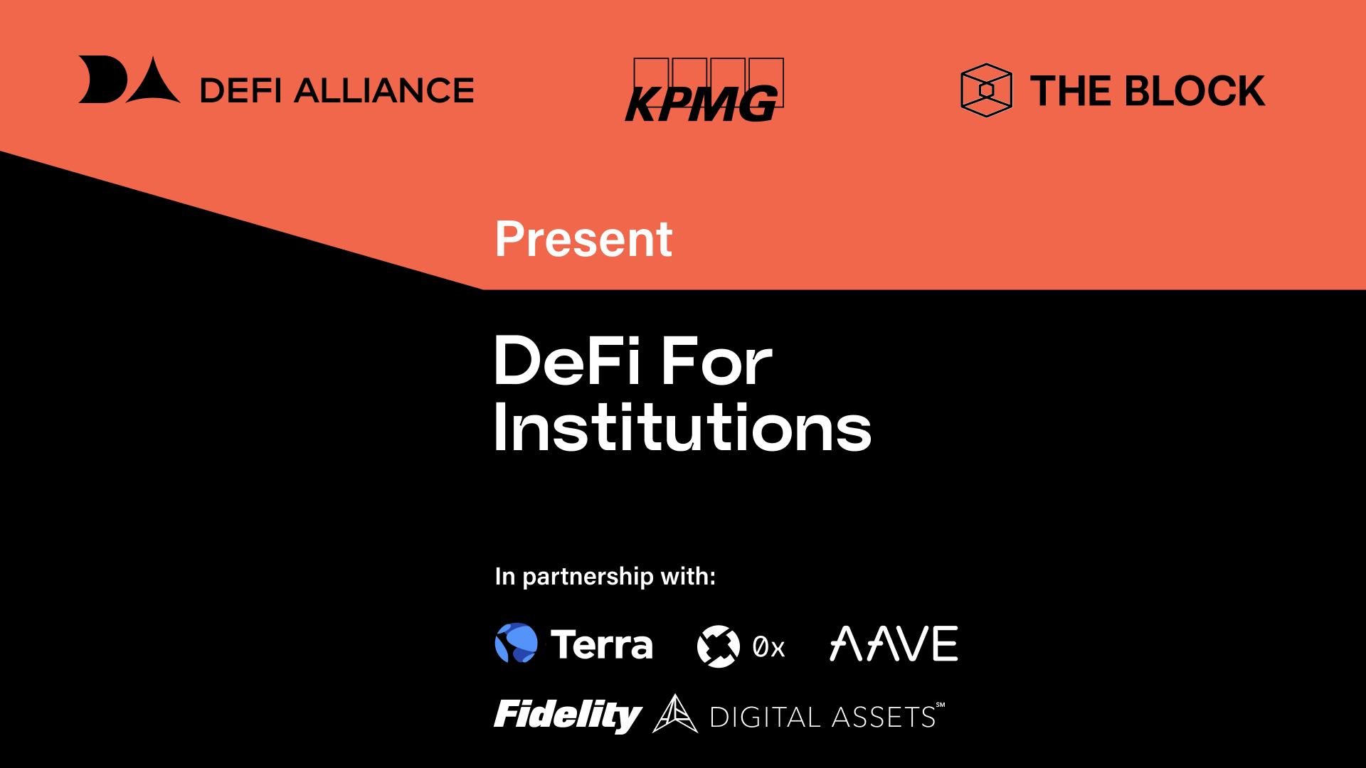 DeFi for Institutions | Full Event