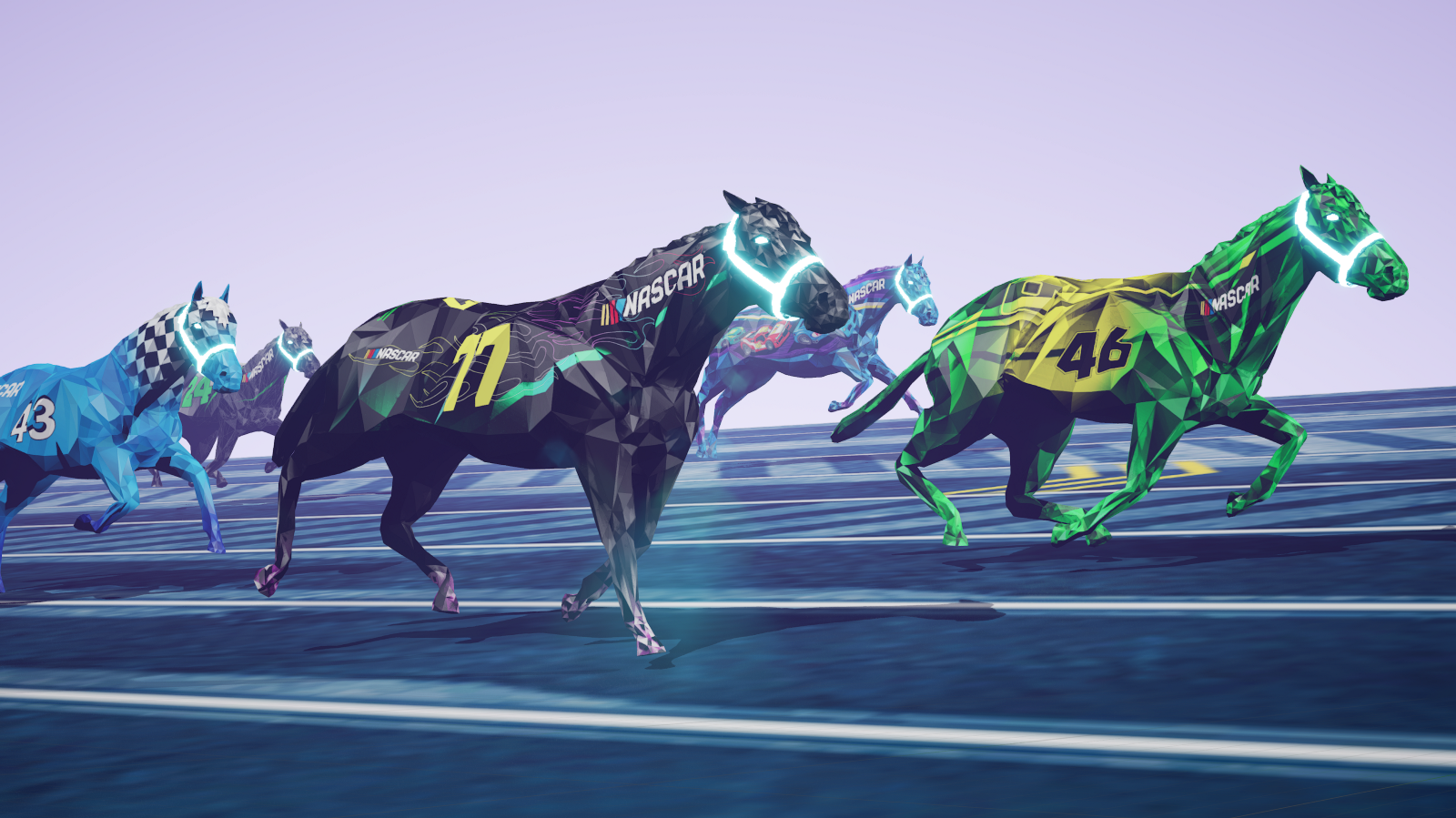 NASCAR links partnership with the startup behind a blockchain-based digital horse racing game