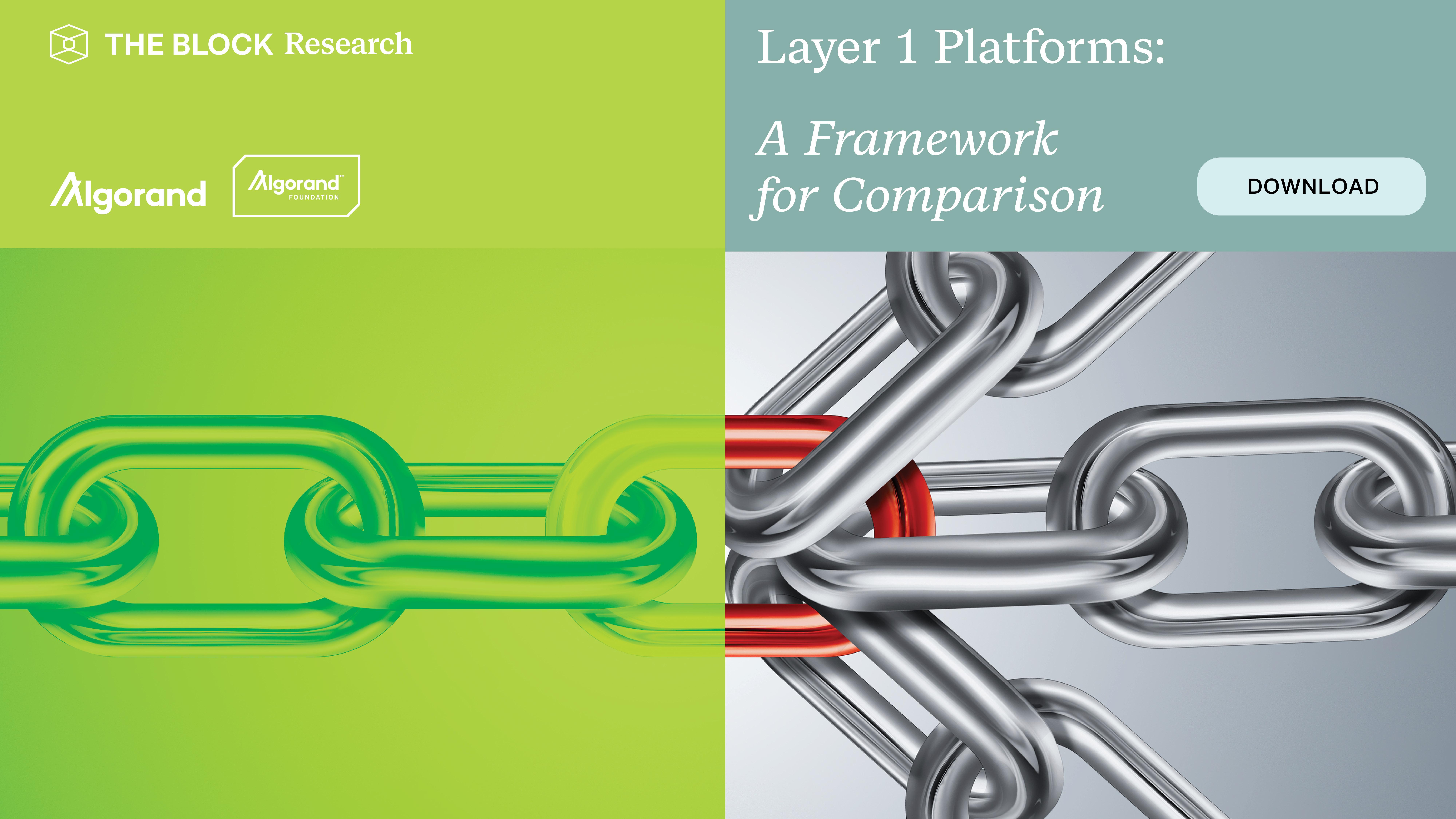 Layer-1 Platforms: A Framework for Comparison
